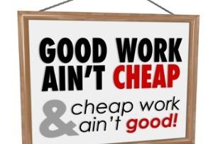 Cheap slogan