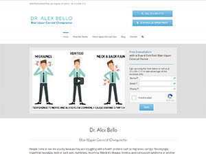 Dr. Alex Bello, Blair Upper Cervical Chiropractor in Los Angeles