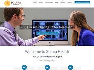 Dr. Bohemier, Solara Health, NUCCA chiropractor in Calgary