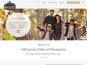 Hill Country Clinic of Chiropractic, Upper Cervical Chiropractor in Temple, TX
