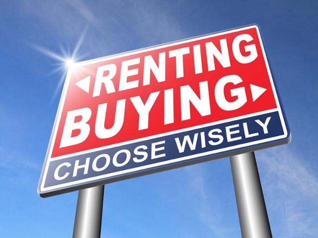 renting versus buying