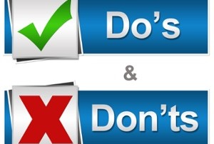 Do's And Don'ts of Chiropractic Marketing