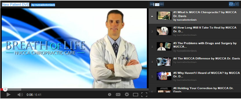 new patient dvd