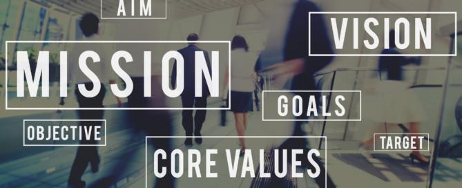 Values, vision, mission for upper cervical practice