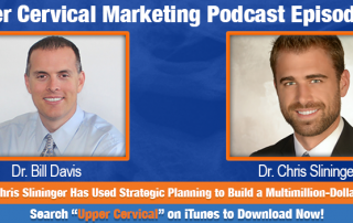 Dr. Chris Slininger On the Upper Cervical Marketing Podcast
