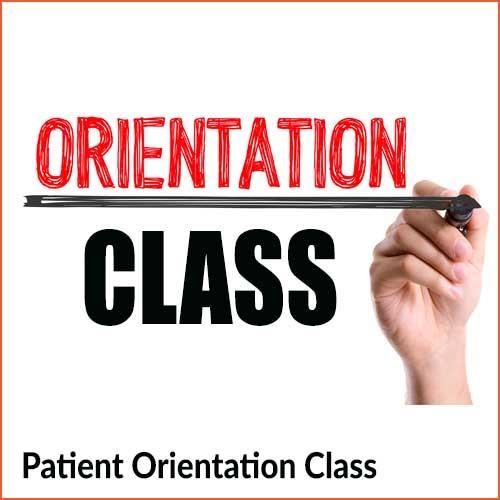 Patient Orientation Class