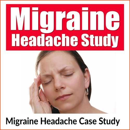 Migraine headache case study research program