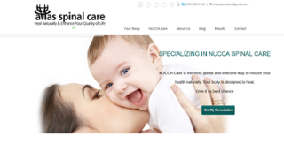 Atlas spinal care website