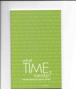 What time Tuesday book