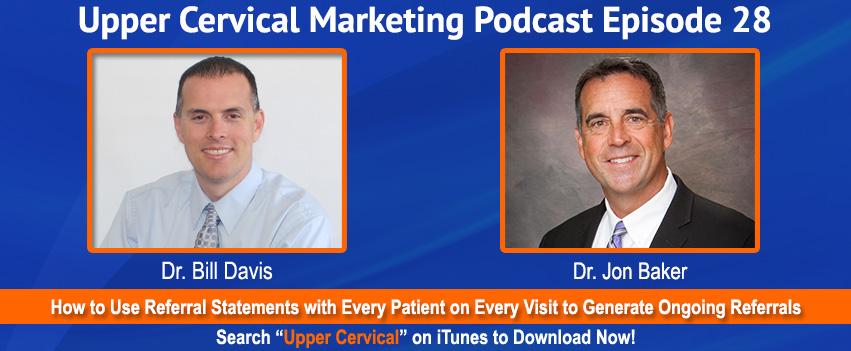 Dr. Jon Baker on the Upper Cervical Marketing Podcast