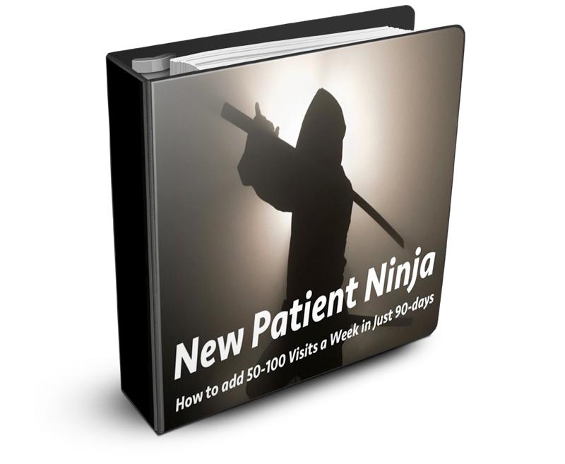 New patient ninja six week webinar course from upper cervical marketing