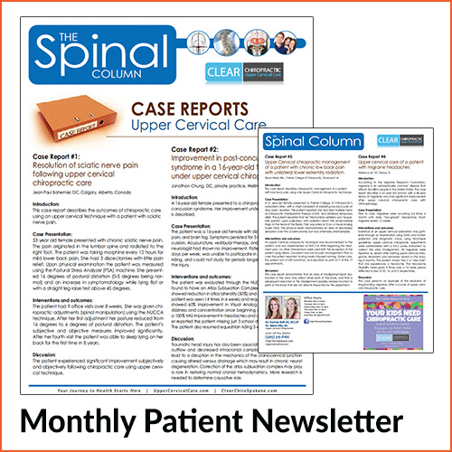 Upper Cervical Newsletters