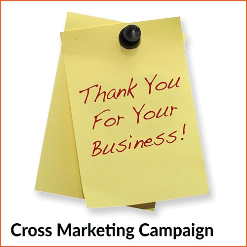 Cross marketing campaign