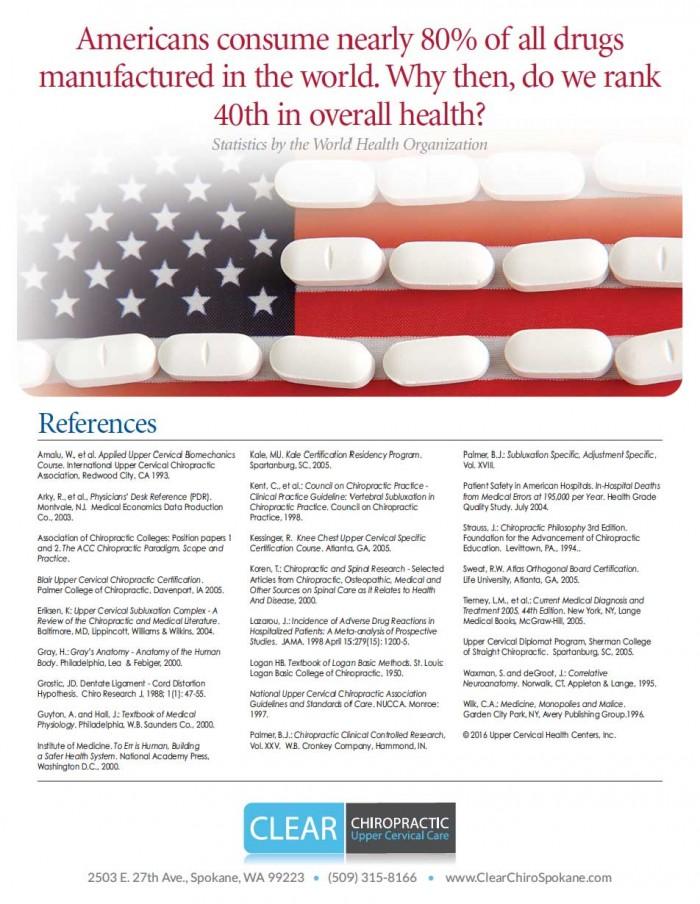 Statistics about US drug consumption