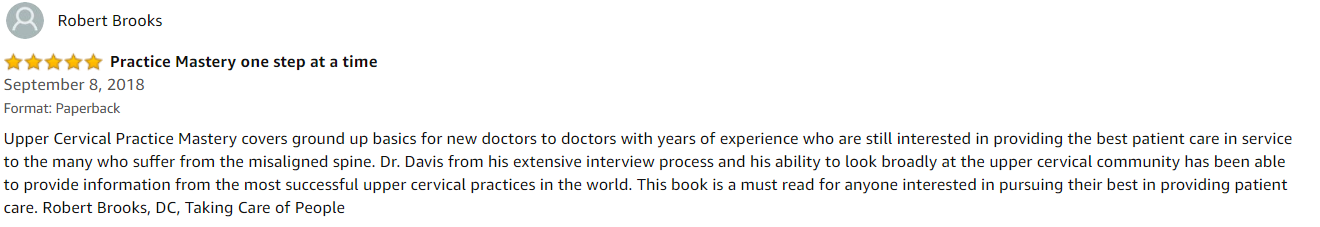 amazon reviews Robert Brooks