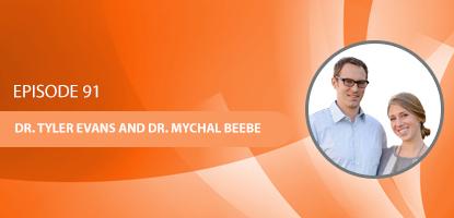 Dr. Tyler Evans and Dr. Mychal BeebeDr. Tyler Evans and Dr. Mychal Beebe on the UCM Podcast