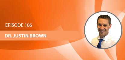 Dr. Justin Brown on the Upper Cervical Marketing Podcast