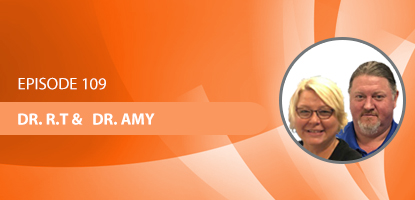 Drs. R.T and Amy Holliday on the Upper Cervical Marketing Podcast