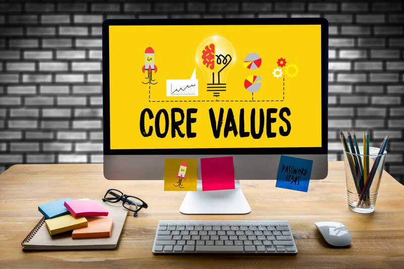 core values brainstorm