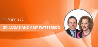 Dr. Lucas and Amy Watterson on the Upper Cervical Marketing Podcast