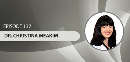 Dr. Christina Meakim on the Upper Cervical Marketing Podcast